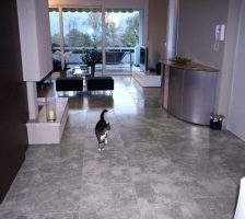Modern floor in Stone GREY